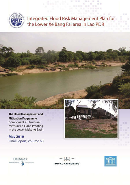Integrated Flood Risk Management Plan for the Lower Xe Bang Fai area in Lao PDR